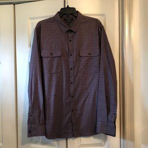 Marc Anthony Slim Fit Luxury Fabric Shirt XL